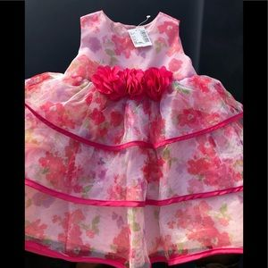 Pink & flowers baby...!!!